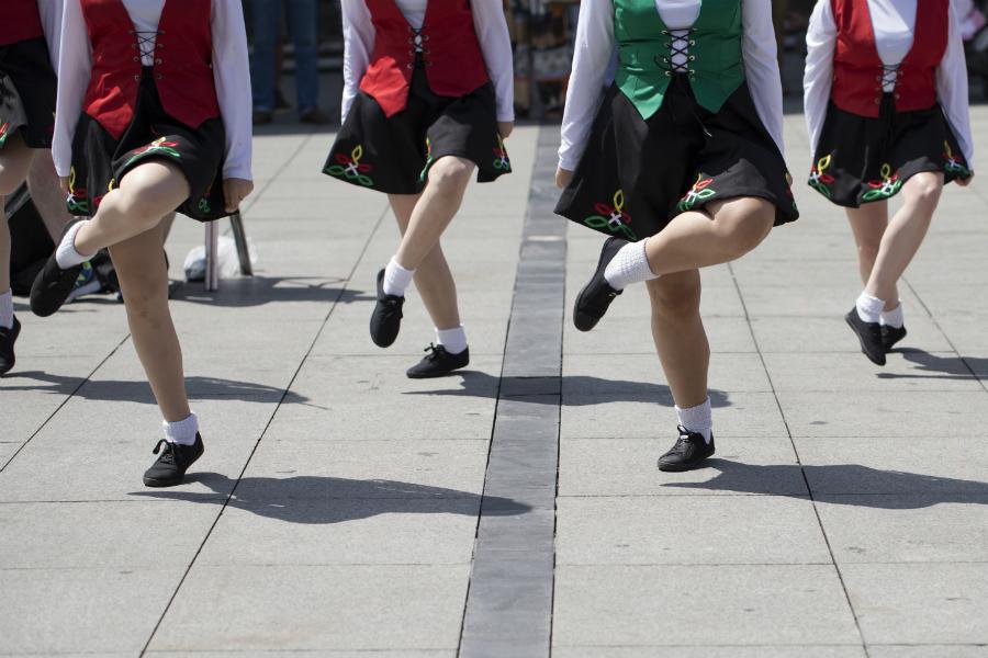 irsk folkedans